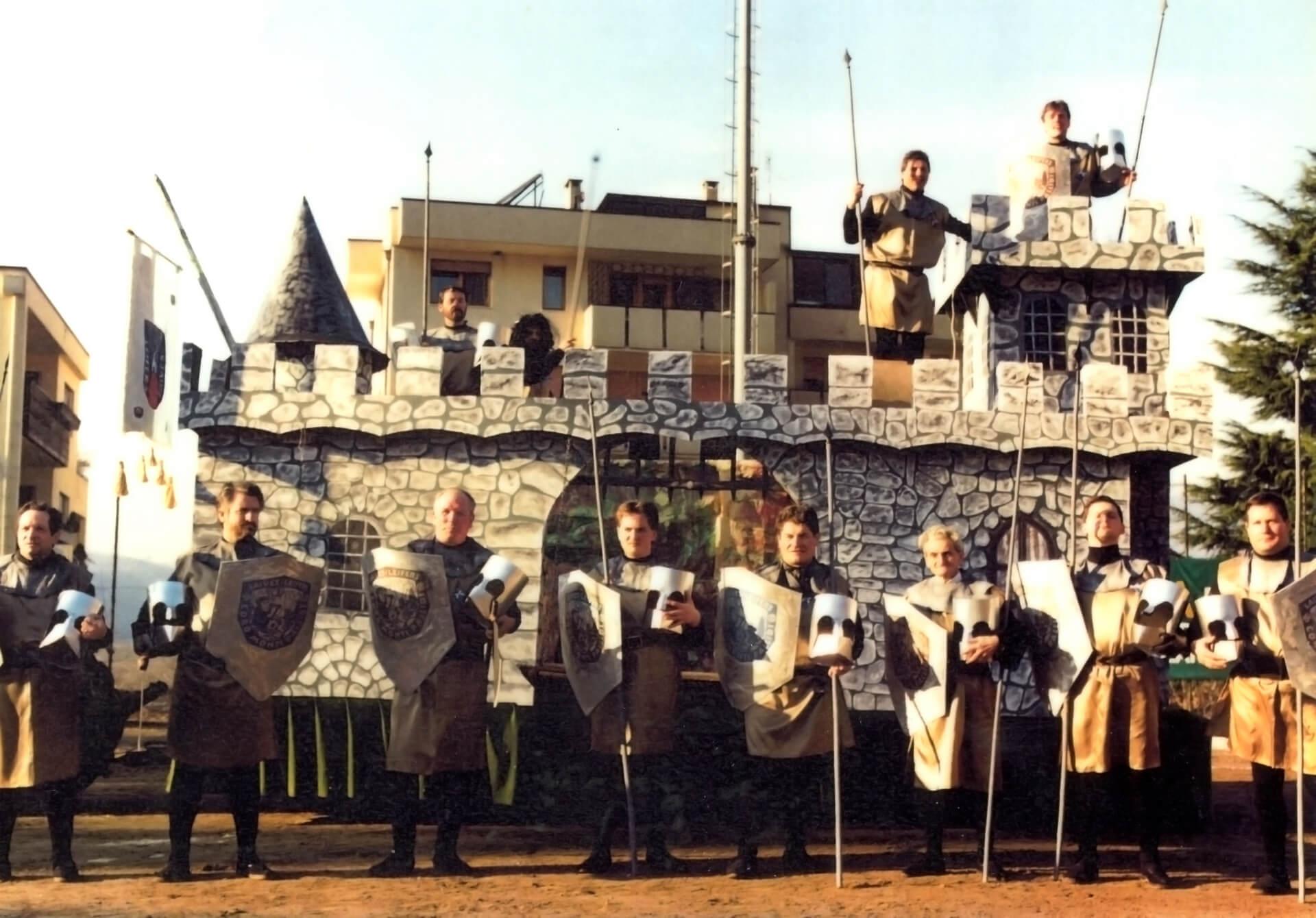 Medioevo 1991 Gruppo Carnevalesco