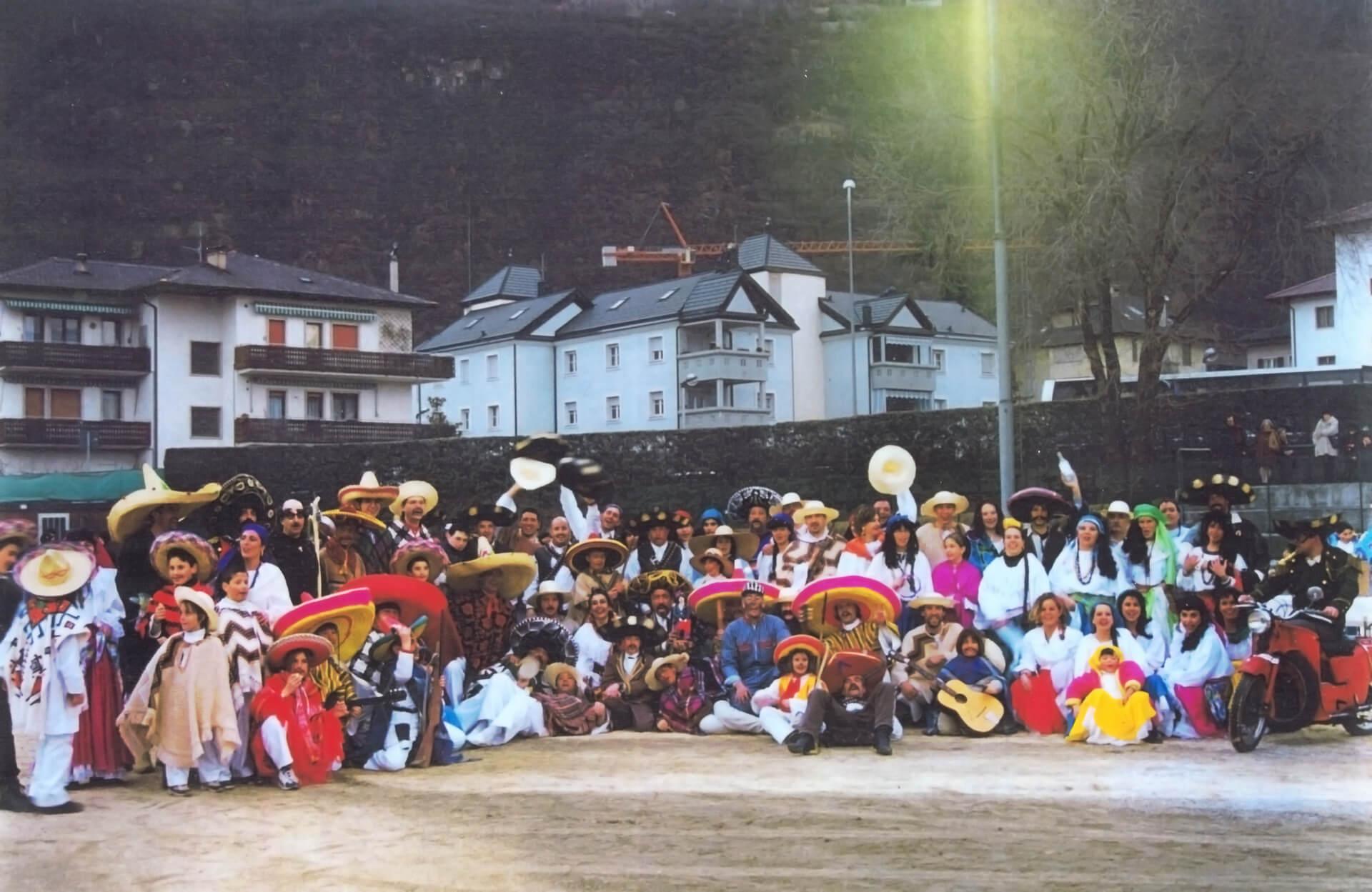 Messico 1999 Gruppo Carnevalesco