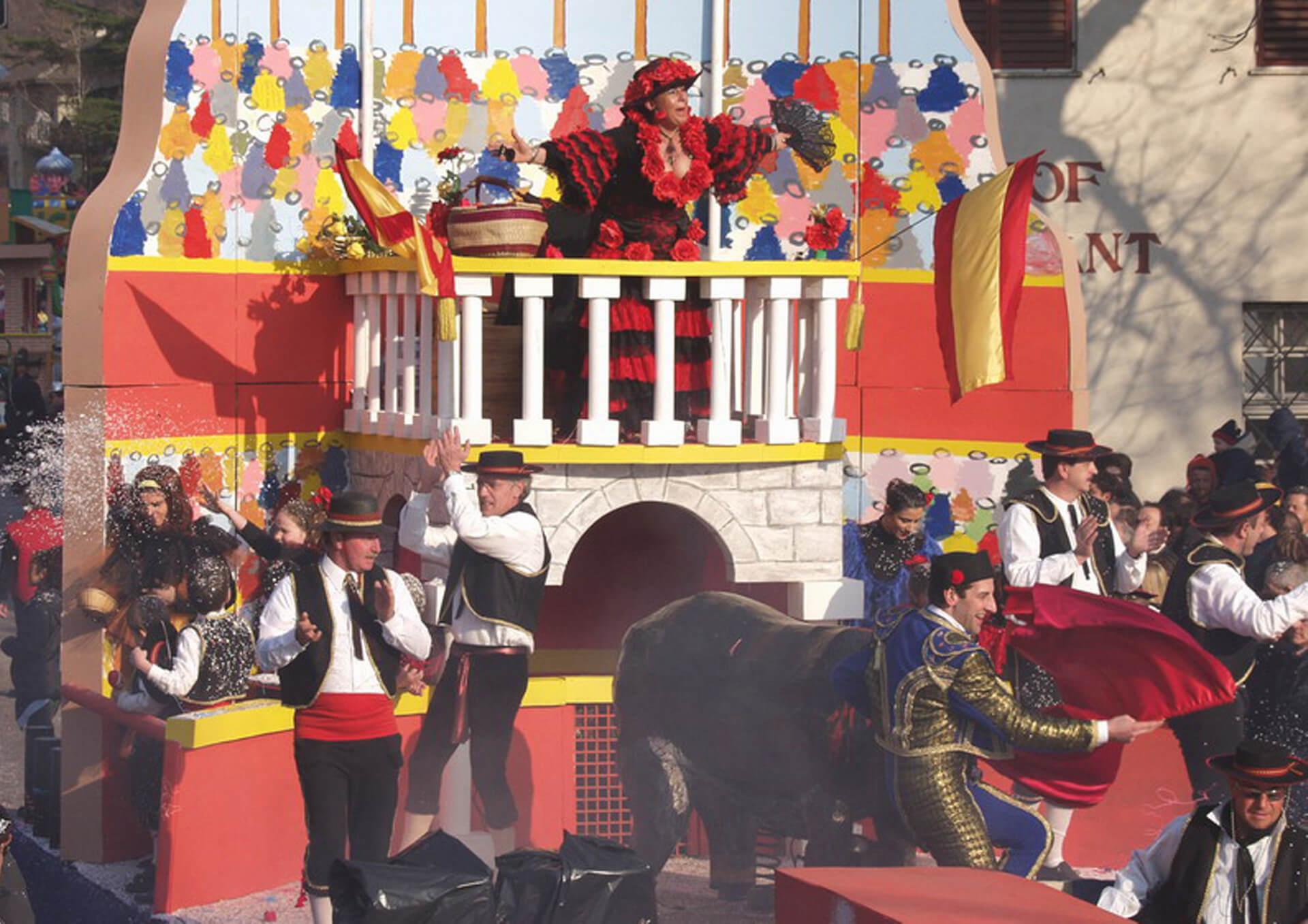 Spagna 2003 Gruppo Carnevalesco