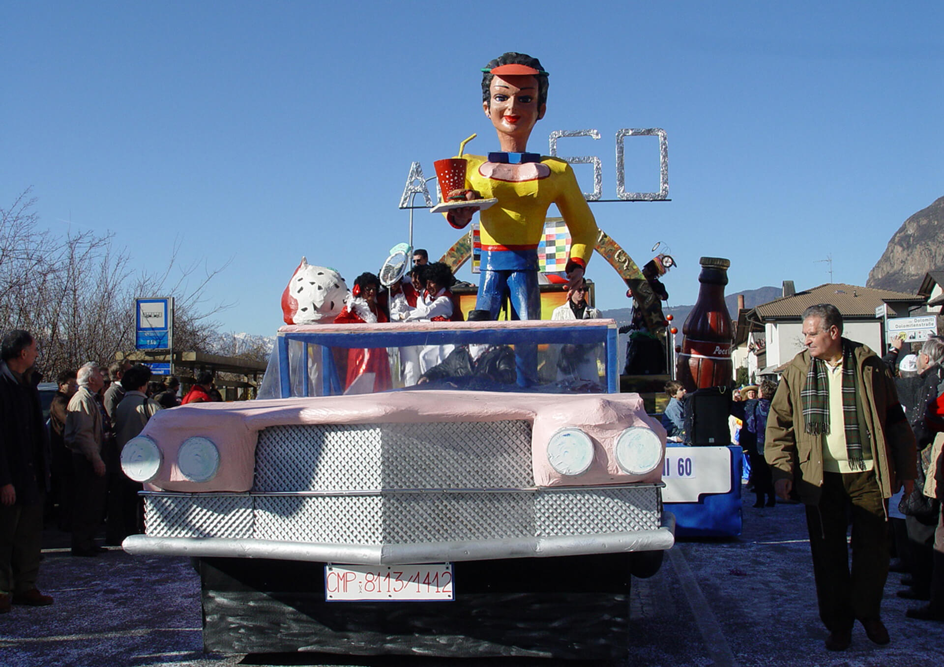Anni 60 2004 Gruppo Carnevalesco