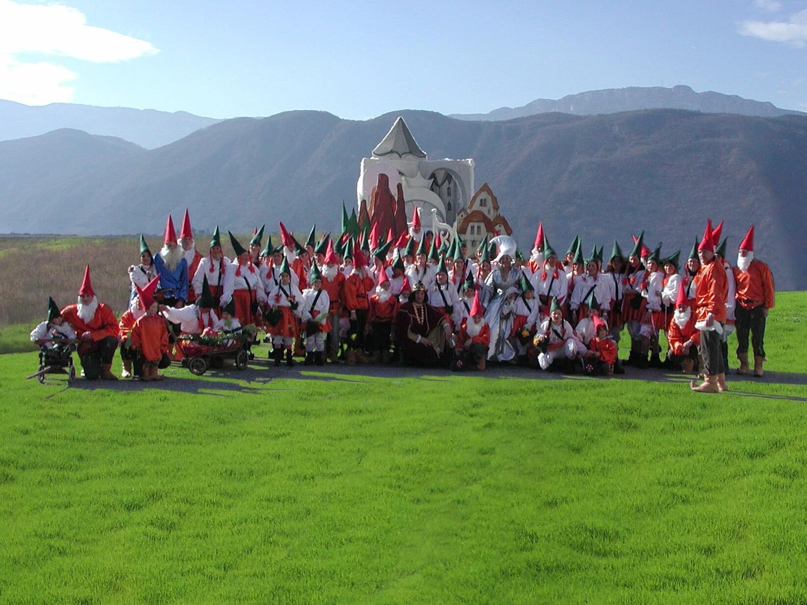 La leggenda dei Monti Pallidi 2007 Gruppo Carnevalesco