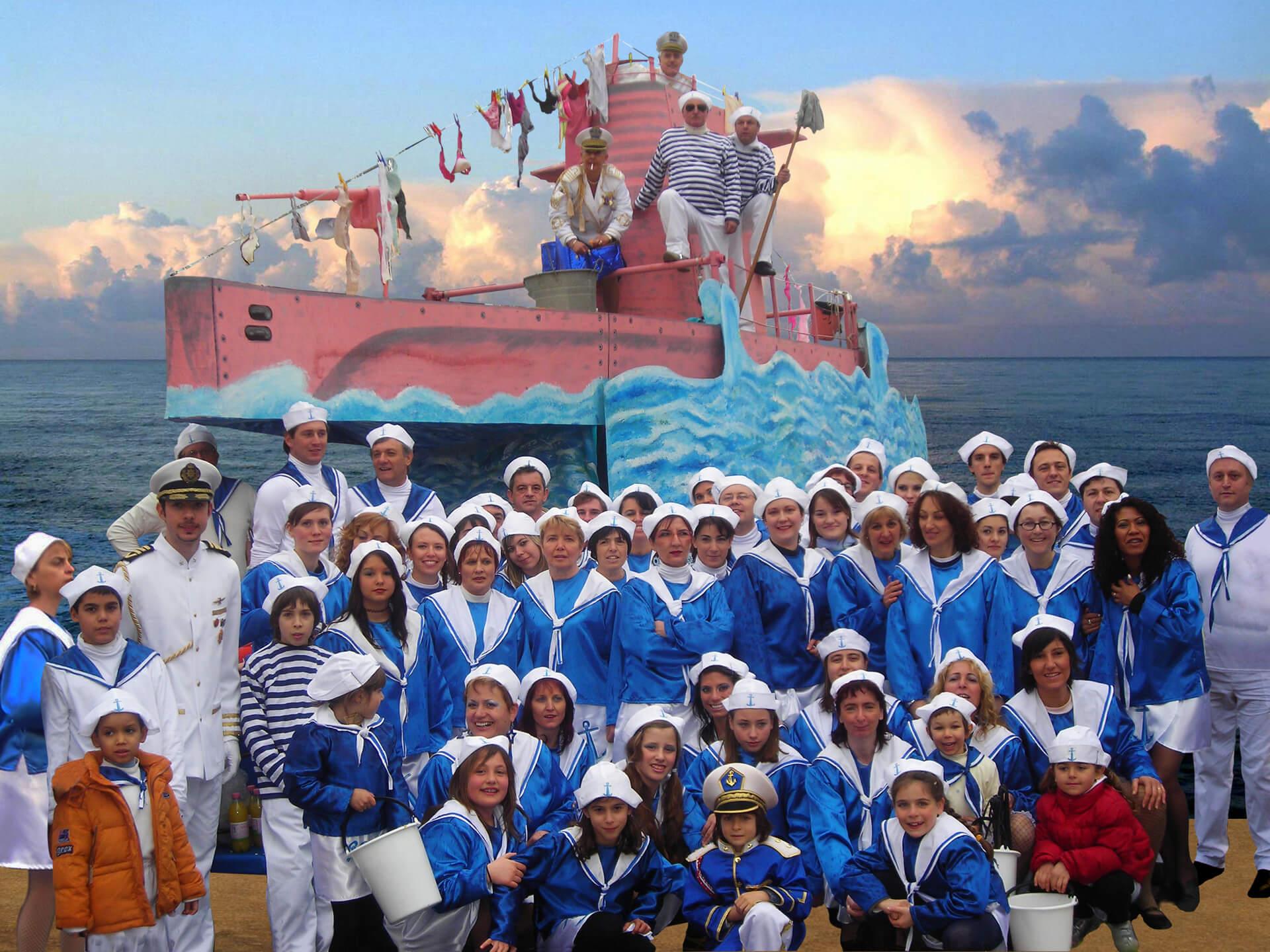 Operazione Sottoveste 2008 Gruppo Carnevalesco