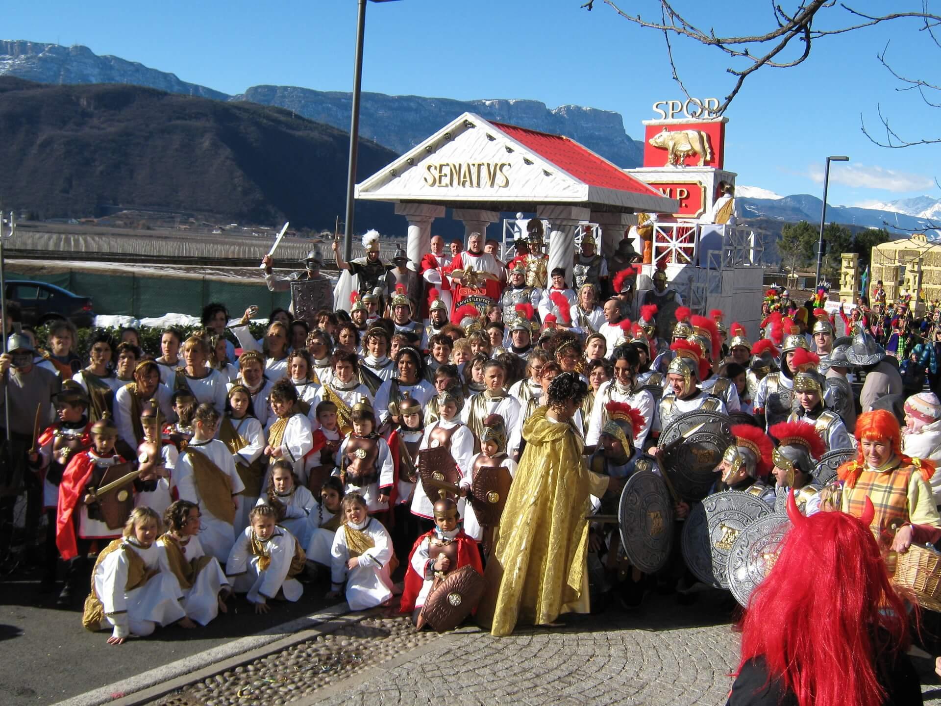 Roma Imperiale 2010 Gruppo Carnevalesco