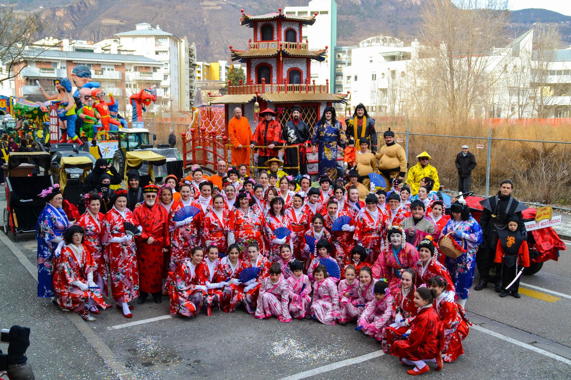 Oriente Misterioso 2013 Gruppo Carnevalesco
