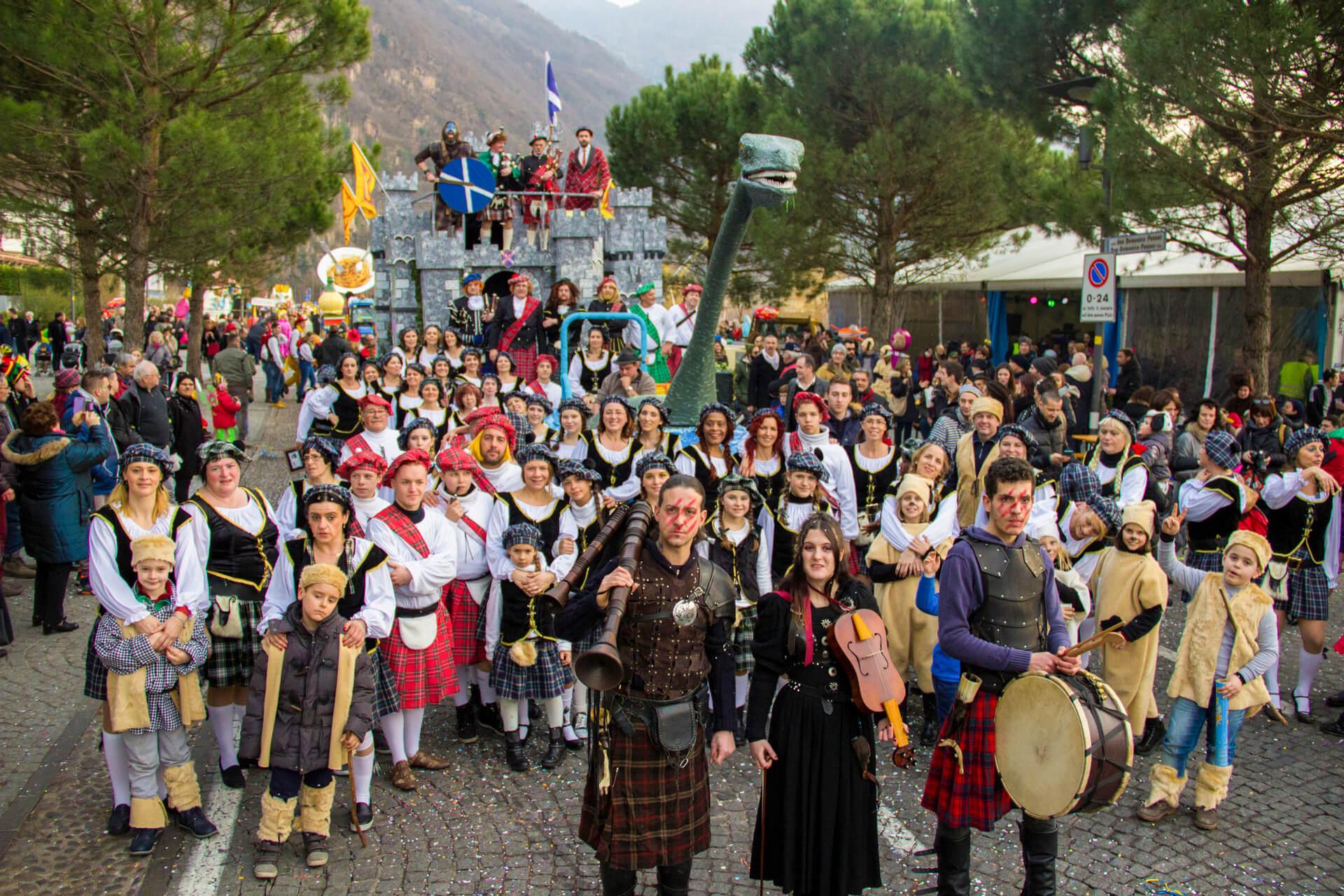 Nessie Mostro di... Laives 2016 Gruppo Carnevalesco