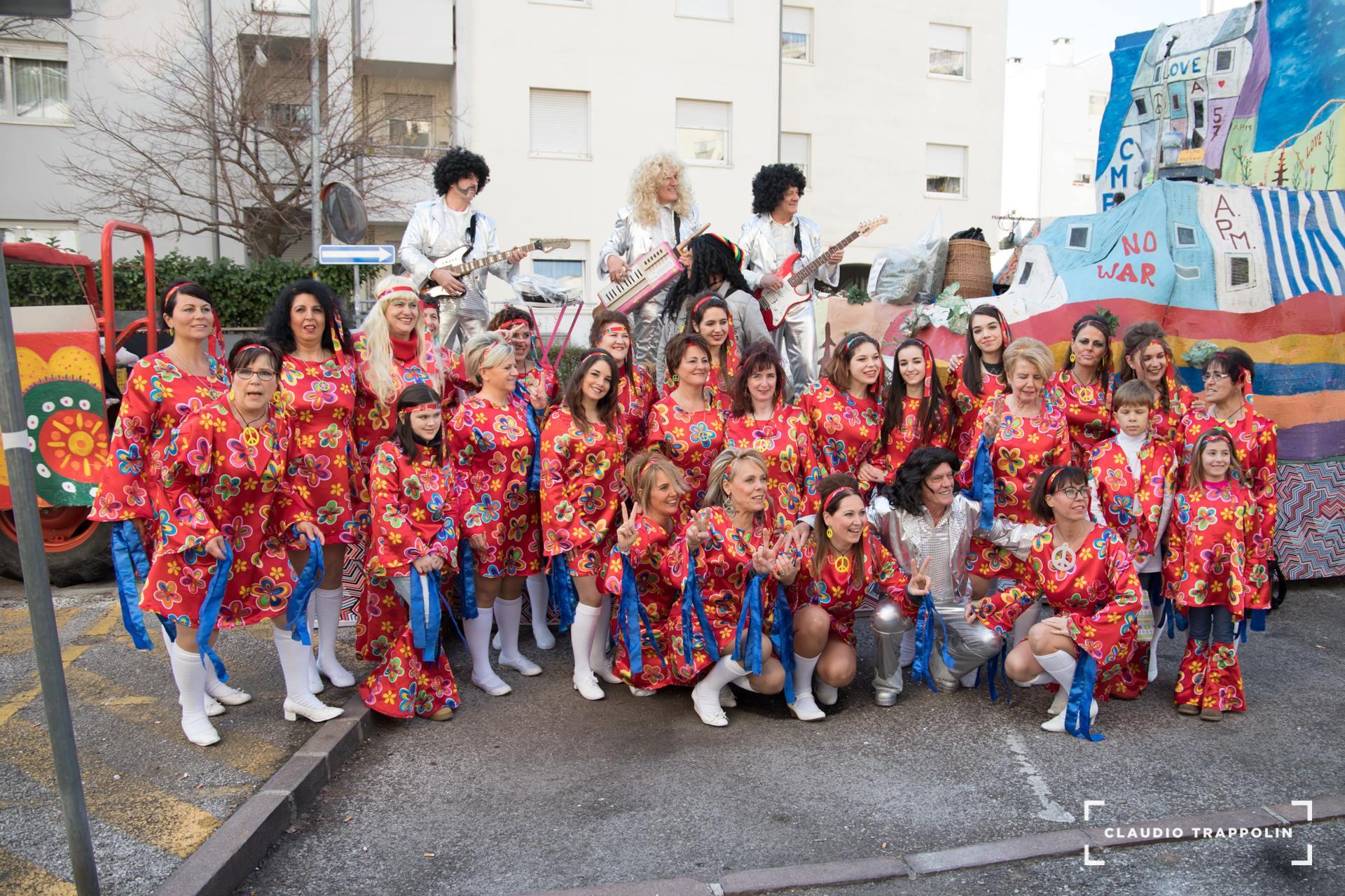 Meravigliosi Anni 60/70 Gruppo Carnevalesco